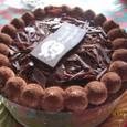 チョコ生ケーキ